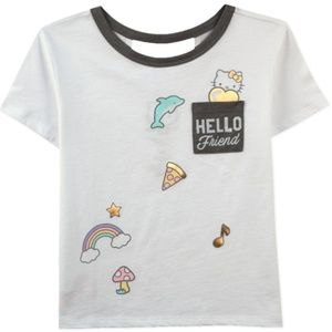 "Hello Kitty ""Hello Friend"" Pocket T-Shirt"